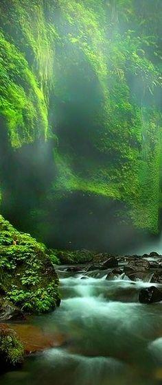 .beautiful waterfall