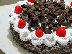 Black Forest Cake ~ Gastronomy of the World Black Forest Cake, German, Dishes, Desserts, Recipes, Cake, Deutsch, Tailgate Desserts, Deserts