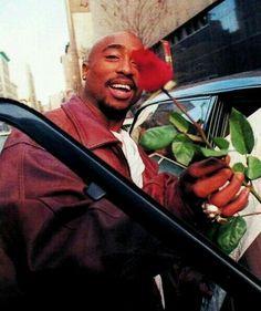 Imagem de tupac, 2pac, and rose