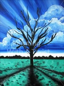 """Meet the Artist"" featuring Raymond Tackett - Sherman, TX Painting Class - Painting with a Twist"
