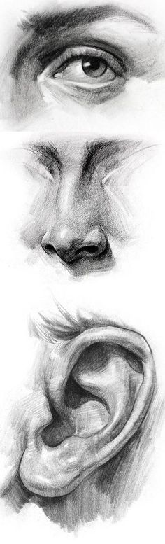 Delineate Your Lips - 111 Insanely Creative Cool Things to Draw Today - How to draw lips correctly? The first thing to keep in mind is the shape of your lips: if they are thin or thick and if you have the M (or heart) pronounced or barely suggested. Life Drawing, Drawing Sketches, Cool Drawings, Pencil Drawings, Painting & Drawing, Sketching, Drawing Skills, Drawings Of Eyes, Human Body Drawing