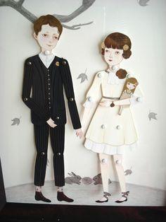 Wedding Paper Dolls