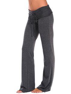 Dark grey comfy casual pant