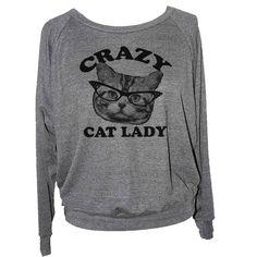Crazy Cat Lady Sweatshirt / Jumper