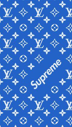 Supreme x Louis Vuitton blue edtion