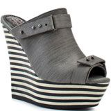 Rock and Republic: Grace Wedge - Grey