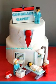 Lego Surgeon - Cake by Nicole - Just For The Cake Of It