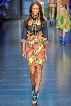 D&G   Spring 2012 Ready-to-Wear Collection   Style.com