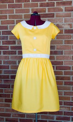 Jengerbread Creations: SYTYCS Entry, Week 3: Fair and Lemon Square Dress (and Tutorial!)