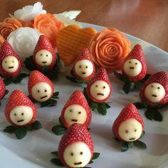 ❤️️Valentine Strawberries Kisses 2015 by Chuncarve enjoyed ❤️
