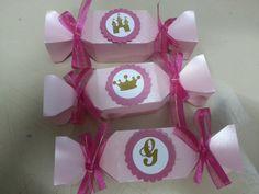 Caixa bala  Princesa | Atelier Cristy Rego -papelaria e festas personalizadas, miniaturas e presentes | Elo7