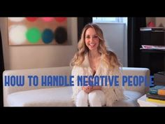 In this week's video blog I share an awesome tool for how to handle negative people. #SpiritJunkie