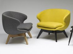 Temperature Design : August Chair Jumbo   Australian Made, Moulded from recycled industrial resin, GECA certified