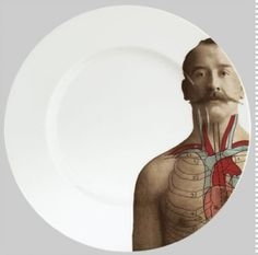 I wish I could get Anatomica dinnerware by Lisa Turner.