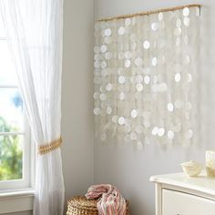 I love this over a crib or little girl's bed #pbteen