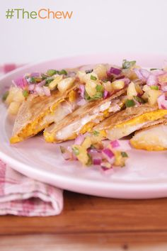 These cheesy Fiesta Chicken Quesadillas are the perfect weeknight meal!