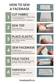 Learn how to sew a surgical face mask with very simple and easy step by step guide. I have made this face mask at home and using because there an non available. If you want to learn how. Have instructions. Wnloadable and a short video. Keep safe. Easy Face Masks, Homemade Face Masks, Diy Face Mask, Facemask Homemade, Sewing Patterns Free, Free Sewing, Free Pattern, Pocket Pattern, Pattern Sewing