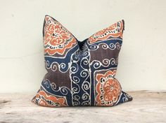 New Homespun Oganic Hemp Handmade Batik Hand by orientaltribe11