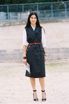 Vanessa Jackman: Paris Fashion Week SS 2013....Caroline