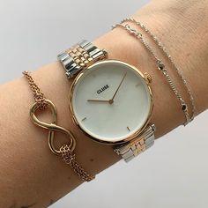 Glas Art, Gold Watch, Steel, Watches, Bracelets, Accessories, Bar, Classic Elegance, Minerals