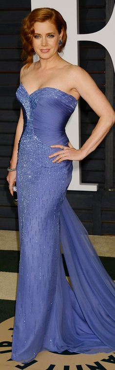 Amy Adams In Atelier Versace – 2015 Vanity Fair Oscar Party