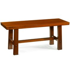 Bench in Solid Elm Wood, Asian Contemporary Furniture #ElmBench #ChineseFurniture