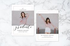 Printable Double Sided Modern Rose Gold Faux Foil Border Photo