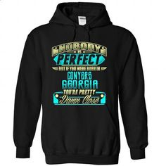 Born in CONYERS-GEORGIA P01 - #tshirt refashion #victoria secret sweatshirt. SIMILAR ITEMS => https://www.sunfrog.com/States/Born-in-CONYERS-2DGEORGIA-P01-Black-Hoodie.html?68278