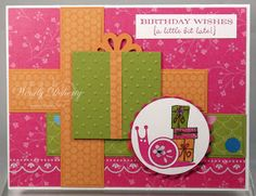 Stamping Styles: Christmas Quilt