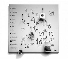 Krok Calendar White