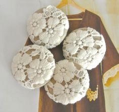 A Fabric Button Journey by RetroNaNa on Etsy