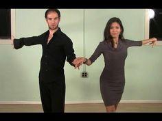 ▶ Ballroom dance steps - Rumba Combination (Beginner) - YouTube