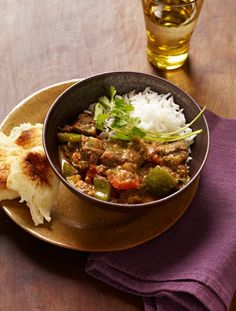 Lamb Curry Set your slow-cooker timer for 10 hours and dinner will be ready when you walk through the door. Slow Cooker Recipes Family, Crockpot Recipes, Cooking Recipes, Lamb Recipes, Family Recipes, Indian Dessert Recipes, Ethnic Recipes, Slow Cooker Curry, Indian Cookbook
