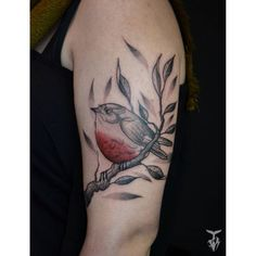 Robin for Apolline. Thank you for your trust! :) 🐦 #budapesttattoo #ladytattooers #customtattoo #blackwork #blackworkerssubmission #oneofakind #robin #tattrx #birdtattoo #customtattoo #dijontattoo (helyszín: MU)