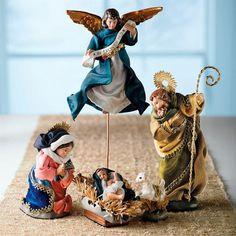 Holy Family Nativity, Set of Six