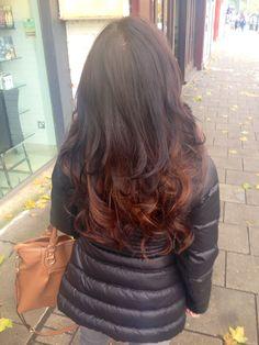 #hair #dip-dye