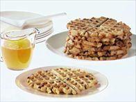 Lemon-Almond Waffles Recipe : Giada De Laurentiis : Food Network