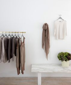 Beige and white, white and beige, taupe and cream....