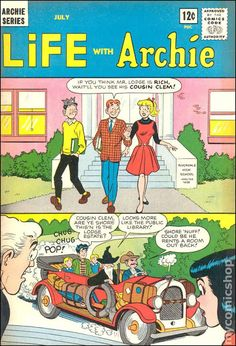 Life With Archie (On Newsstands in May And here's a Harry Lucey classic about the Riverdale Hillbillies! Archie Comics Characters, Archie Comic Books, Vintage Comic Books, Vintage Comics, Archie Cartoon, 3d Cartoon, Funny Cartoon Pictures, Cartoon Photo, Archie Comics Riverdale