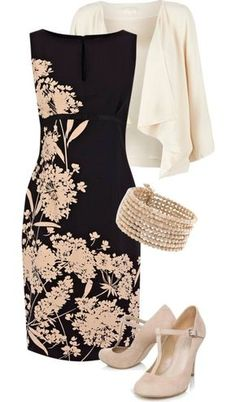 Dress stylists New dress outfit ideas for church stylists ideas Novas idéias de roupas para estilistas da igreja Mode Outfits, Dress Outfits, Fashion Dresses, Fashion Clothes, Woman Outfits, Classy Outfits, Beautiful Outfits, Chic Outfits, Mode Shoes
