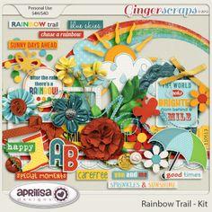 GingerScraps :: Kits :: Rainbow Trail - Kit