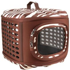 Love this carrier and so does my #chihuahua :) Petmate Curvations Pet Carrier - Free Shipping
