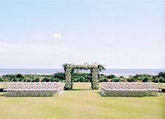 Arbor goals | Beach Weddings | Charleston, SC