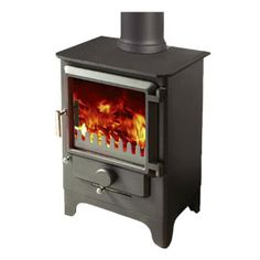 Merlin Slimlime - The Merlin Slimline, our smallest stove, has plenty to offer. Compact and functional with our trademark large unobstructed glass front, this stove offers intelligent heat with all the characterisics of design and concept that define the Merlin range of multifuel stoves.