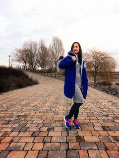 grey dress nike shoes #blog #fashion #style