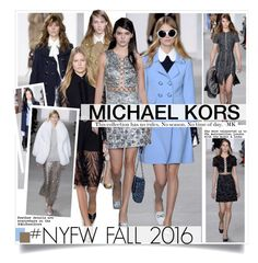 """""""NYFW Fall 2016-Michael Kors"""" by kusja ❤ liked on Polyvore featuring women's clothing, women, female, woman, misses, juniors, NYFW, michaelkors, fashionWeek and fashionshow"""