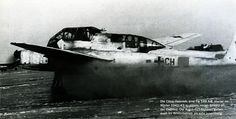 Focke Wulf Fw 189A2 I Gruppe ( +CH) taking off Russia winter 1942 43