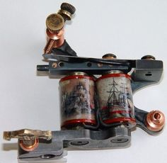 Awesome tattoo machine ... love the coil wraps