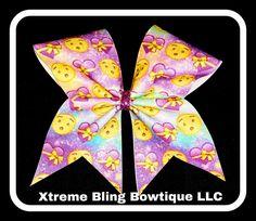 Cheer Bow-Emoji Cheer Bow
