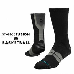 Despite its subtle appearance, Stance's Black Overtime packs a punch. The sock also features patented Stance Triniti Technology. By using a denser weave in strategic areas of the sock, Stance's Advanced Cushion Support System offers maximum comfort and mobility. The Overtime's mesh vents and Quick Wick fabric also keep feet cool and dry. And for additional grip, the Overtime features Traction Control, which places a network of silicone on the ball, ankle, and heel of the sock.